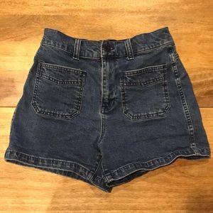 Madewell Highrise Denim Shorts